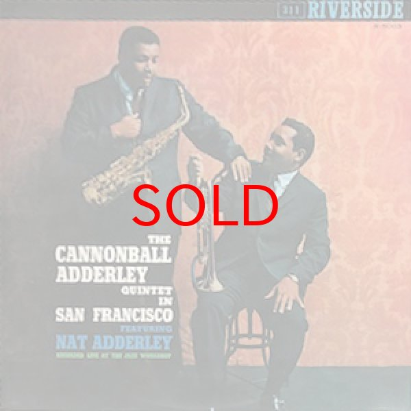 画像1: CANNONBALL ADDERLEY QUINTET -  IN SAN FRANCISCO (1)