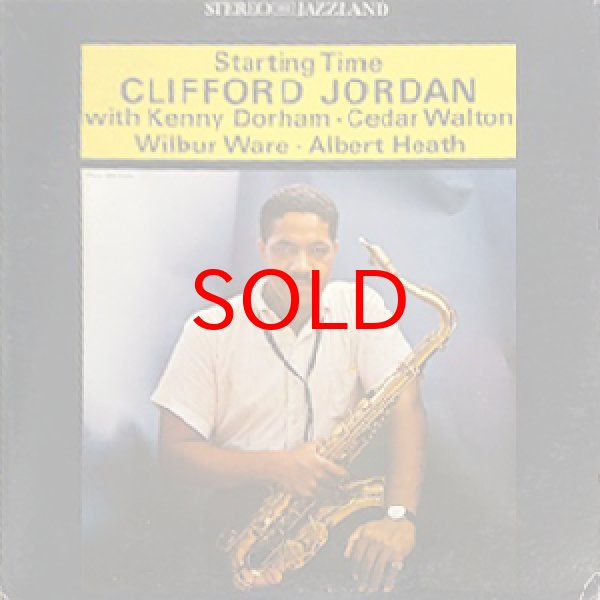 画像1: CLIFFORD JORDAN -  STARTING TIME (1)